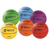 Balón de baloncesto entrenamiento interior - exterior  lote maxi talla 5 los 6
