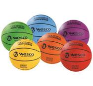 Balón de baloncesto entrenamiento interior - exterior  maxi lote tamaño 7 lote de 6
