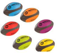 Balones de rugby buen agarre  maxi lote tamaño 4 lote de 6