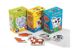 Maxi lote puzzles de animales los 3