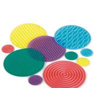 Círculos sensoriales marcaje en el suelo de plástico lote de 10