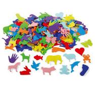 Animales de fieltro adhesivo unos 150