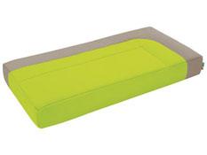 Cocoon asiento firme puf rectangular la unidad
