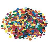 Figuras con purpurina en gomaespuma adhesiva círculos aprox. 1000