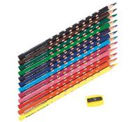 Lápices de colores ergonómicos groove slim lote de 12