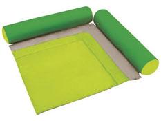 Cocoon asiento mullido alfombra 2 almohadas la unidad