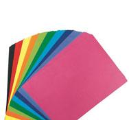 Hojas de papel de color 125 g los 100