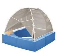 Área de relajación / cabaña de bolas basic sin bolas el conjunto
