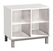 2 repisas mueble doble altura: 51 cm la unidad