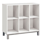 3 estantes mueble triple altura: 81 cm la unidad