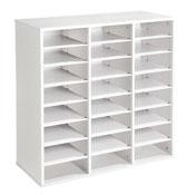 21 repisas mueble triple altura: 102 cm la unidad