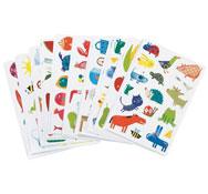 Gomets baby reutilizables dibujos variados lote de 300