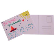 10 tarjetas postales para decorar los 10