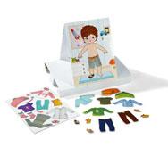Puzzle magnético niña / niño el juego
