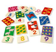 Puzzle duo de 1 a 10 cifras la unidad