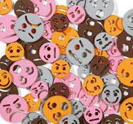Expresiones faciales en gomaespuma aprox. 60