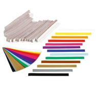 Bandas de papel el arco iris lote de 2400