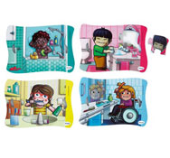 Puzzles flexibles la higiene el conjunto