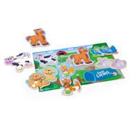 Puzzles con formas flexibles papel crespón ignífugo m1