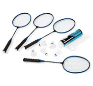 Kit bádminton raqueta junior  para 4 niños el conjunto