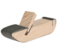 Lijadora manual de madera (25 x 25 x 130 mm)