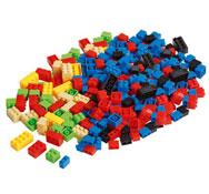 Pequeños ladrillos de construcción lote de194 piezas los 194