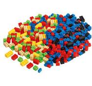 Pequeños ladrillos de construcción lote de 582 piezas los 582