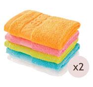 Maxi lote toallas cuadradas lote de 10