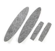 4 recambios para doble cepillo  ref.52869