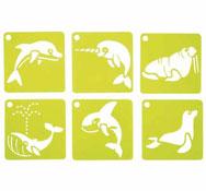 Plantillas animales marinos los 6
