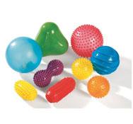 Bolas sensoriales táctiles set de 9 bolas el conjunto