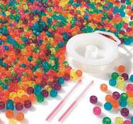 Kit de perlas cilíndricas el conjunto