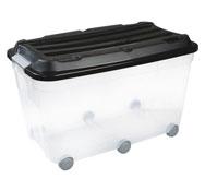 Caja de almacenaje 85 litros la unidad