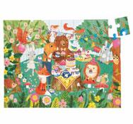 Puzzle garden party la unidad