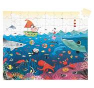 Puzzle el mundo subacuático la unidad