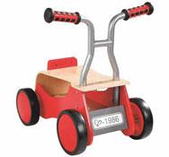 Andador de madera con baúl la unidad