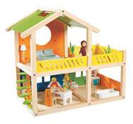 Casa de muñecas portátil el conjunto