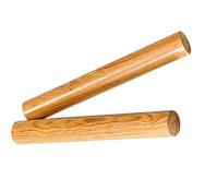 Pareja de claves cocos 20 cm