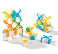 Construcción magnética grippies stackers 24 piezas los 24