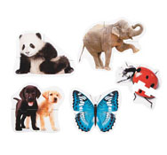Maxi puzzles los animales el conjunto