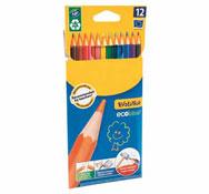 Lápices de color ergonómicos evolution los 12