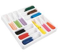 Lápices de cera punta gruesa classpack los 144