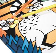 Dibujos para colorear con terciopelo cañon del colorado la unidad