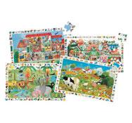 Maxi lote puzzles friso 35 piezas los 4