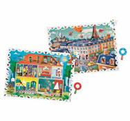 Maxi lote puzzles de observación 108 piezas los 2