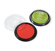 Tinteros de gouache rojo y verde los 2