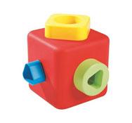 Cubo para ordenar y apilar el conjunto