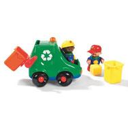 Mis primeros amigos camión de clasificación de residuos el conjunto