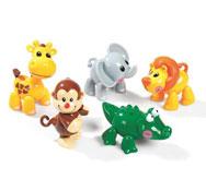 Mis primeros amigos animales de safari el conjunto