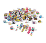 Mini cintas en papel adhesivo los 100